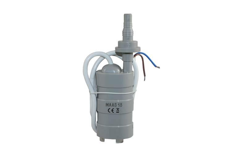 15L submersible pump with check valve