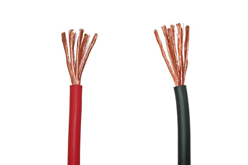 Electric cable 1x 2.5mm² red